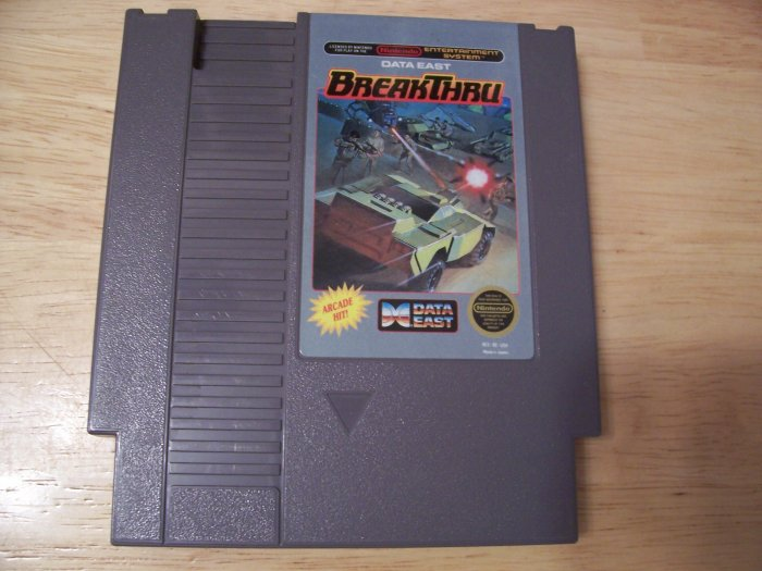BREAKTHRU BY DATA EAST (NES) TESTED