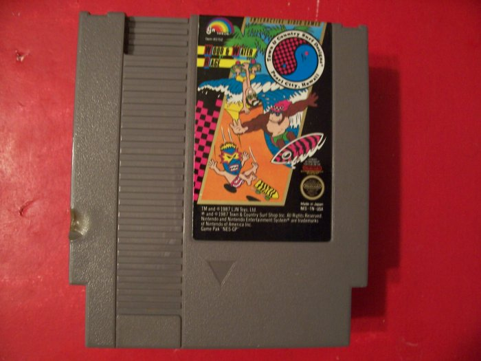 TOWN & COUNTRY SURF (Nintendo) 8 BIT NES TESTED
