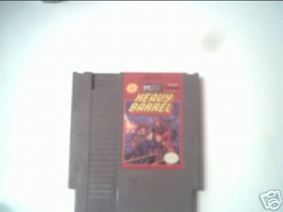HEAVY BARREL (NINTENDO) 8 BIT NES TESTED