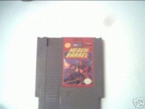 HEAVY BARREL (NINTENDO) 8 BIT NES TESTED