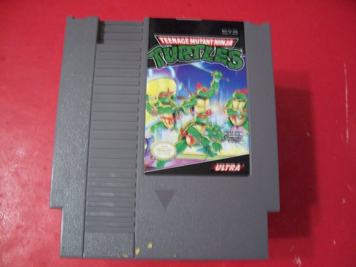 TEENAGE MUTANT NINJA TURTLES (Nintendo) TESTED 8 BIT NES