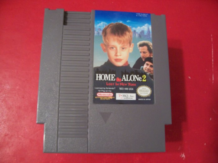 Home Alone 2: Lost in New York (Nintendo) TESTED 8 BIT NES