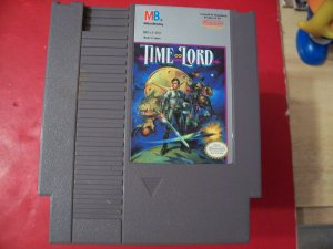 TIME LORD (Nintendo) TESTED 8 BIT NES