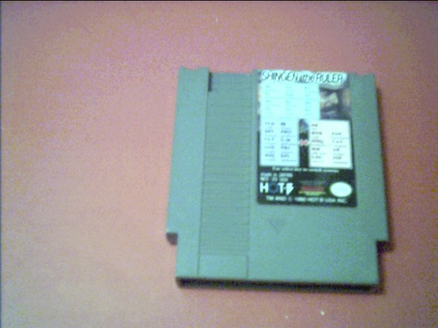 SHINGEN THE RULER (Nintendo) TESTED 8 BIT NES
