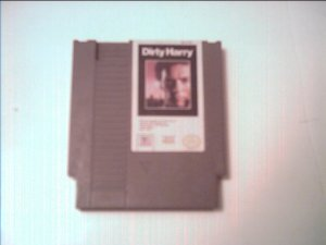 DIRTY HARRY (Nintendo) TESTED 8 BIT NES