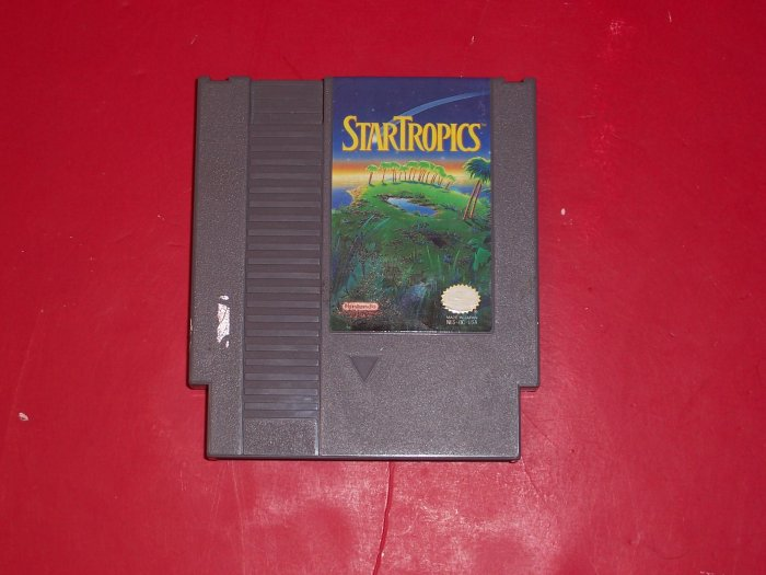 Star Tropics Nintendo TESTED 8 BIT NES