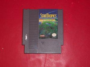 Star Tropics Nintendo TESTED 8 BIT NES