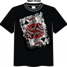 Blackjack gambling apparel t-shirt