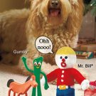 Retro Licensed Dog Toys-Gumby
