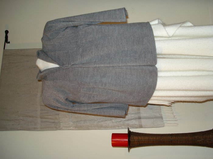 Acrylic Gray Sweater