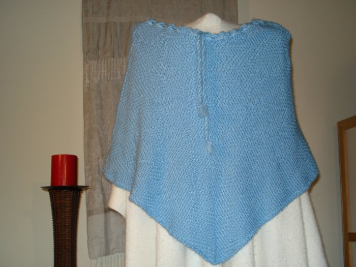 Acrylic Blue Sweater