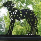 Dalmatian Dog Very Detailed Handmade Decorative Wood Silhouette.