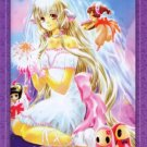Chobits Chi Doujin Post Card CLAMP Postcard (Purple)