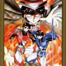 CLAMP School Defenders Dukylon Post Card Postcard