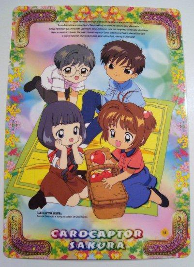 Card Captor Sakura Trading Post Card Postcard Shitajiki Pencil Board (11)