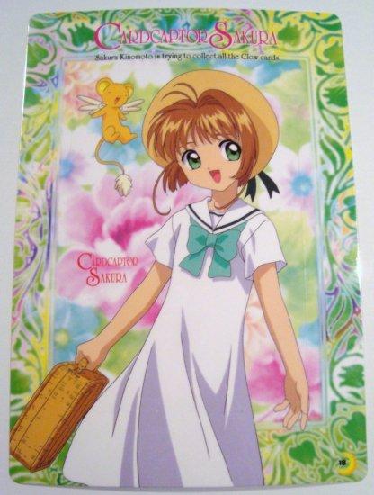 Card Captor Sakura Trading Post Card Postcard Shitajiki Pencil Board (18)