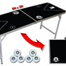 Go Pong™ 6' Portable Beer Pong Table