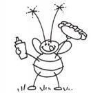 Stampendous - BBQ Bee
