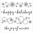 Hero Arts Clear Design- The Joy of Winter