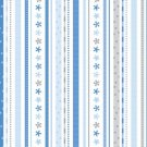 Doodlebug 12x12 Paper - Winter Ribbon Stripe