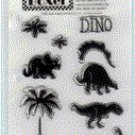 Boxer Scrapbook - Dino Stamp Set