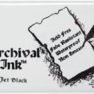 Archival Ink Pad & Re-Inker - Jet Black