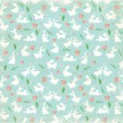 Making Memories 12x12 Paper - Flocked Bunny
