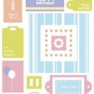 Making Memories - Birthday - Colorboard Stickers
