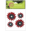 Petaloo - Double Delight Daisies - R/W/B