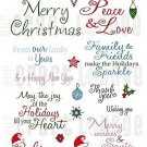 Our Craft Lounge Clear - Merry Wishes