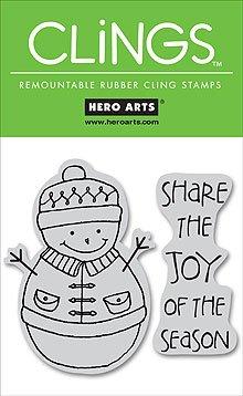 Hero Arts Clings - Share the Joy