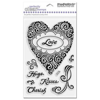 Stampendous Clear - Pattern Palpitations