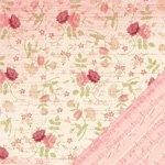 Making Memories 12x12 Paper - Floral Ledger