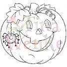 Stampavie - Tina Wenke - Halloween Pumpkin w/Spider
