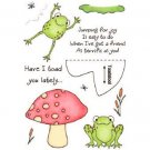 Inky Antics - Clear Stamp Set - Frog HoneyPOP