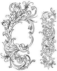 Tim Holtz Collection - Fabulous Flourishes