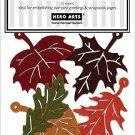 Hero Arts - Felt Leaves - 12 ct