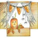 Lockhart Stamp Co - Halloween Window