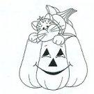 Great Impressions - Kitty in Jack O'Lantern