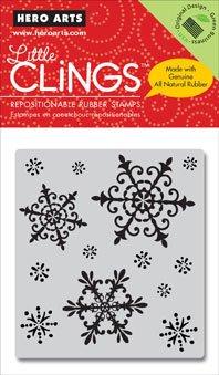 Hero Arts Little Clings - Snowflakes