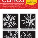 Hero Arts Clings - Four Framed Snowflakes