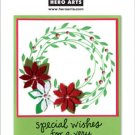 Hero Arts PolyClear - Wreath Card Kit