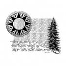 Penny Black Rubber Stamp - wherever you are