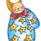 Lockhart Stamp Co - Mitten Kitten Star