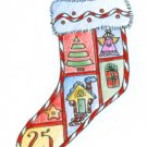 Lockhart Stamp Co - Christmas Tree Stocking