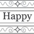 Outlines - Happy