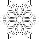 Outlines - Snowflake Topper