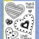 Hero Arts Clear Design- Hugs & Kisses