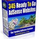 345 Adsense Ready Websites eBook