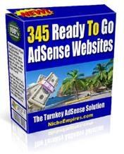345 Adsense Ready Websites eBook
